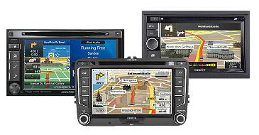 Multimedia und Navigationsysteme: Xzent, Alpine, Zenec