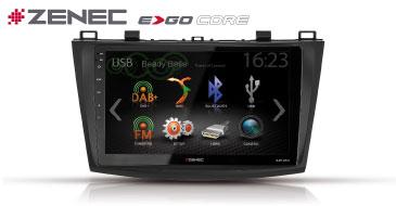 ZENEC E>GO Core Z-F4501 für Mazda 3